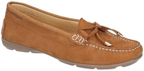 Hush Puppies Maggie Slip On Ladies Shoes Tan
